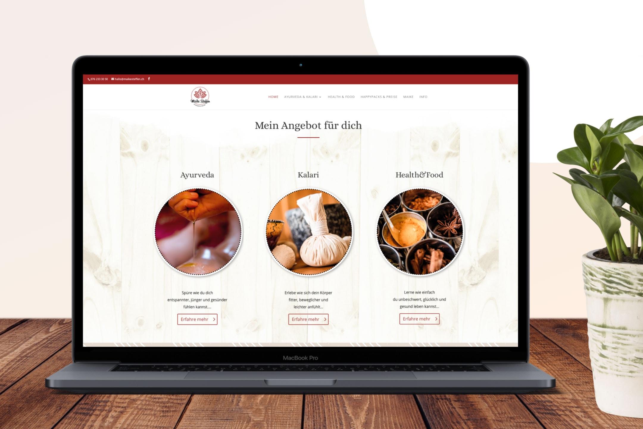 hilledesign Portfolio Maike Steffen Webdesign