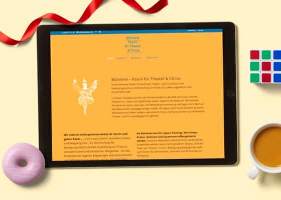 hilledesign Portfolio Webdesign Bühnerei