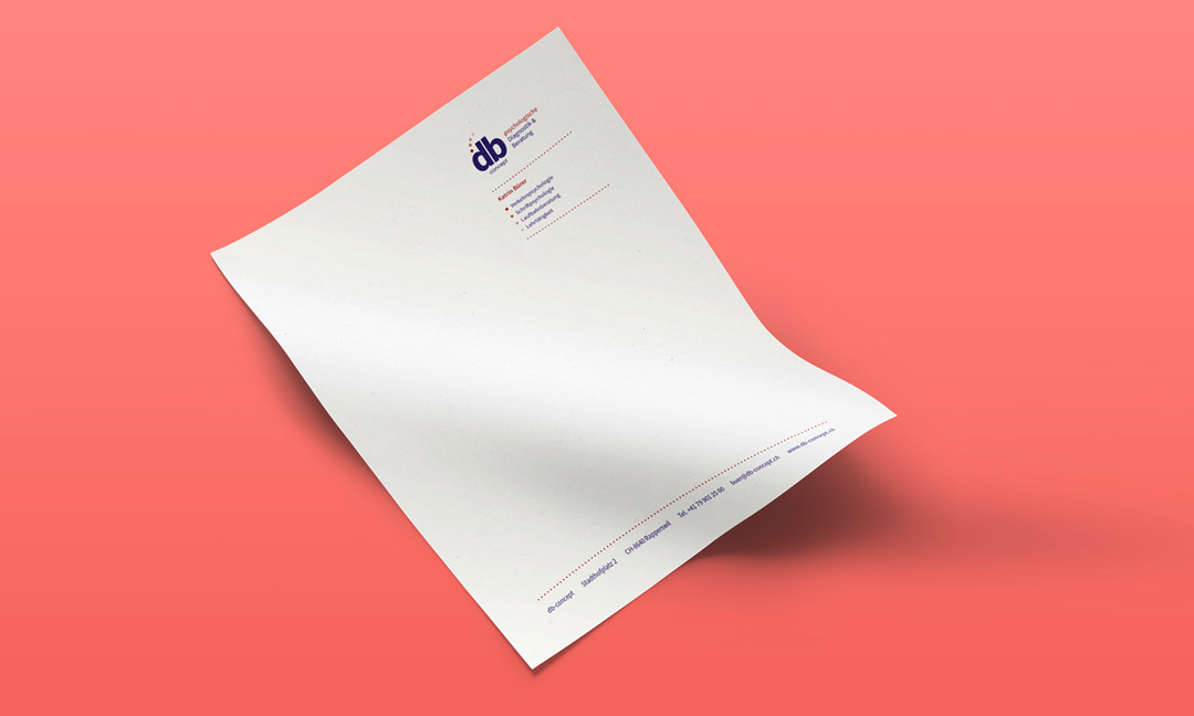 hilledesign Portfolio db-concept Briefpapier