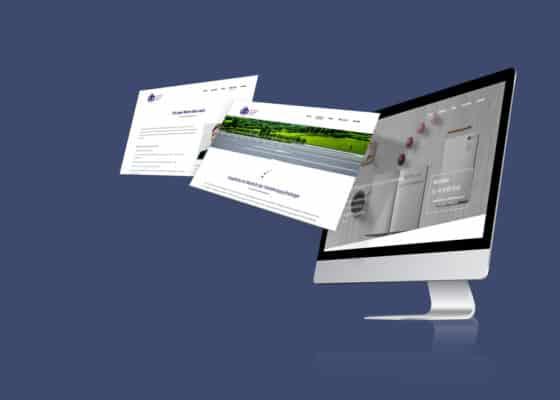 hilledesign Portfolio db-concept Homepage