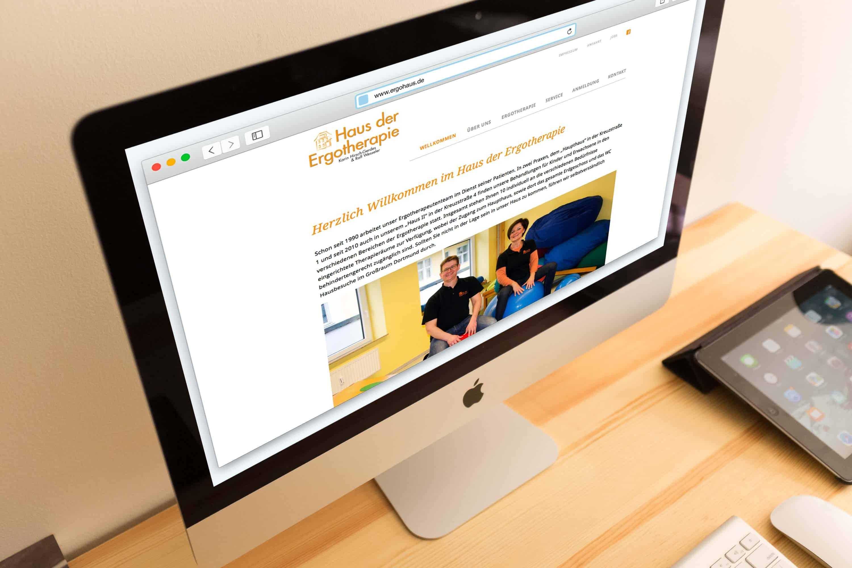 hilledesign Portfolio Homepage Ergohaus Dortmund