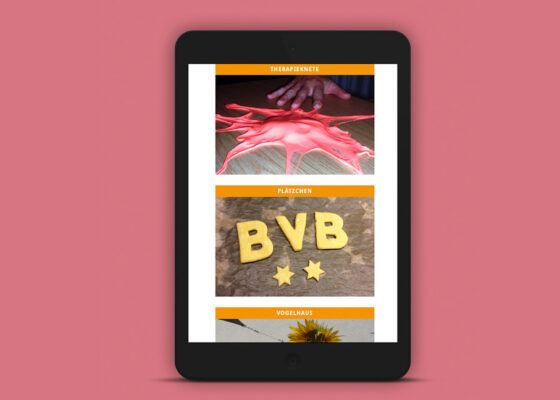 hilledesign Portfolio Webdesign Haus der Ergotherapie Dortmund