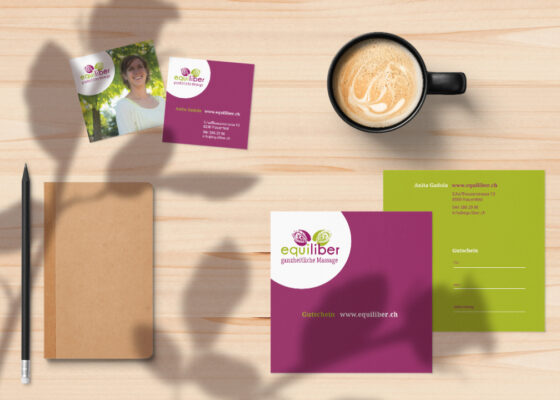 hilledesign Portfolio equiliber Corporate Design