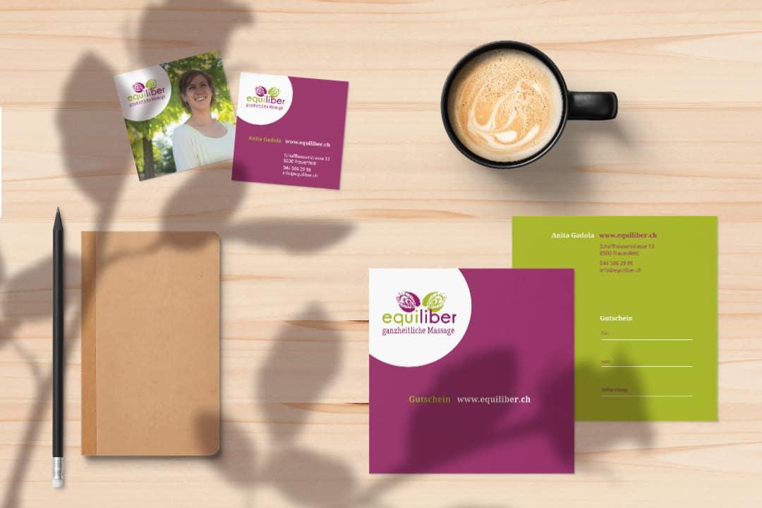 hilledesign Portfolio equiliber Corporate Design