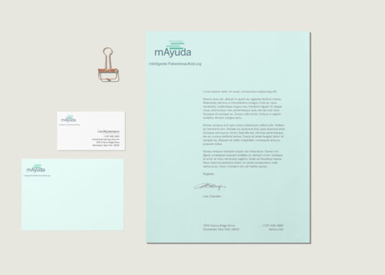 hilledesign Portfolio mAyuda Corporate Design und Logo Design