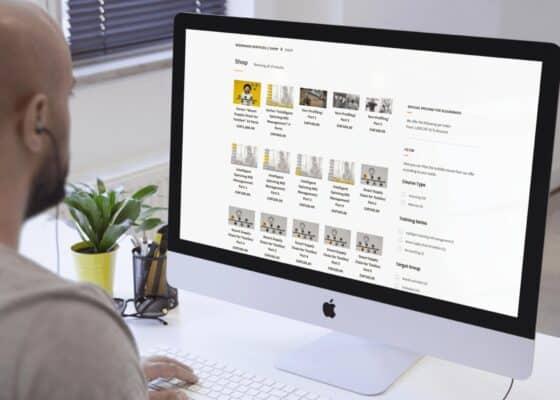 hilledesign Portfolio Biermann Services Onlineshop und Homepage