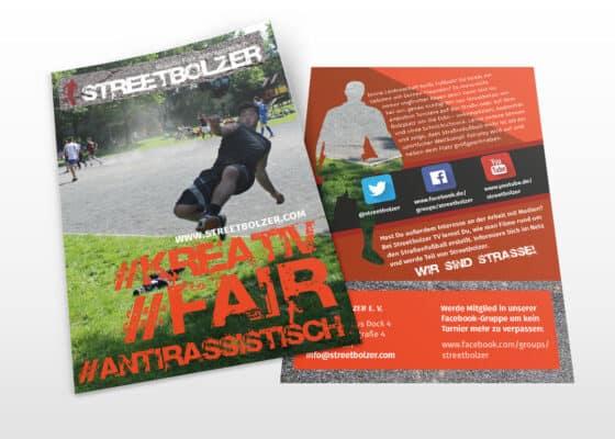 hilledesign Portfolio Streetbolzer Flyer