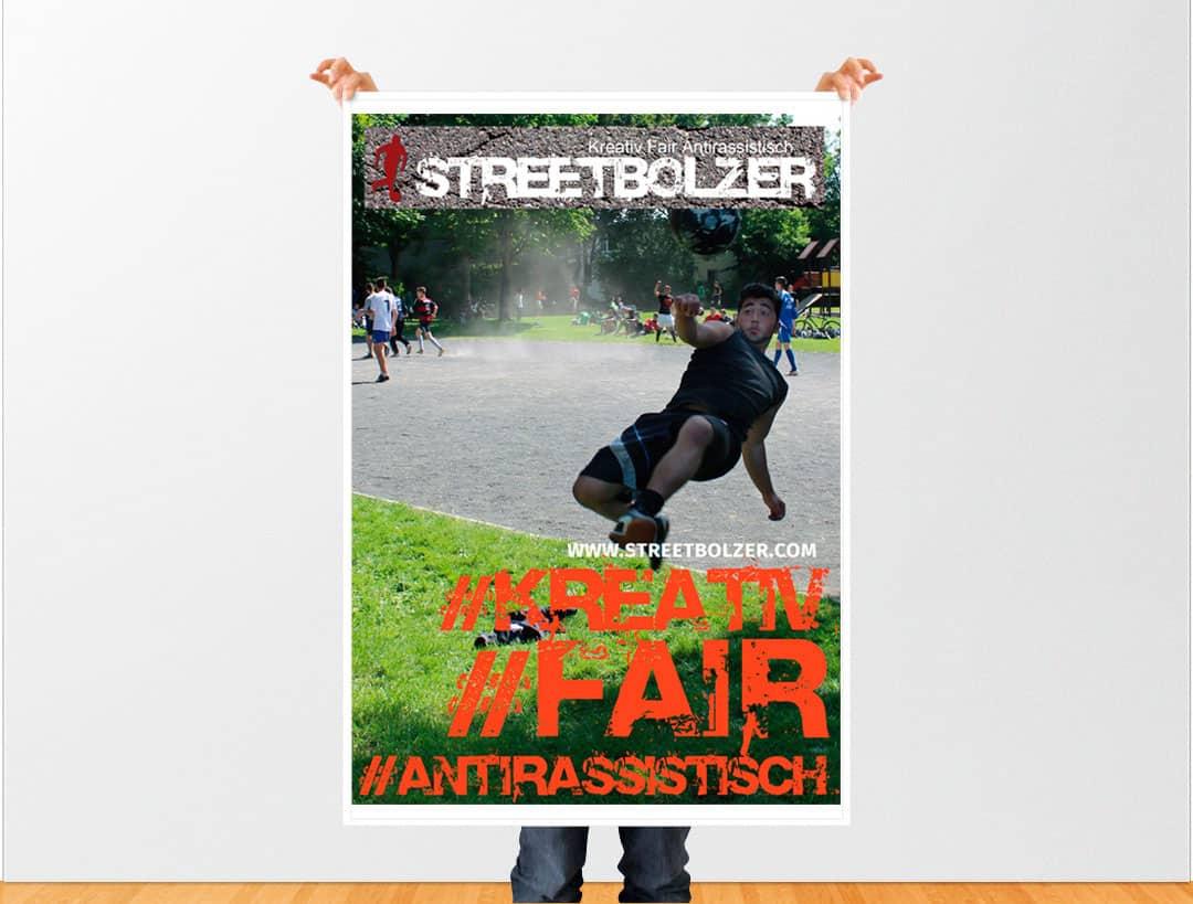 hilledesign Portfolio Streetbolzer Plakat
