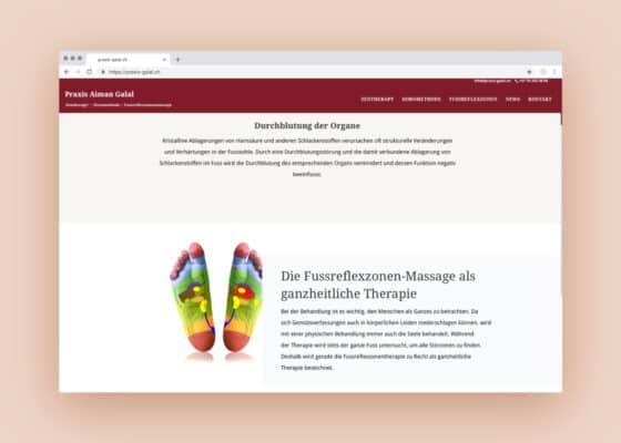 hilledesign Portfolio Praxis Aiman Galal Homepage