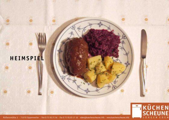 hilledesign Portfolio Küchenscheune Motiv Heimspiel
