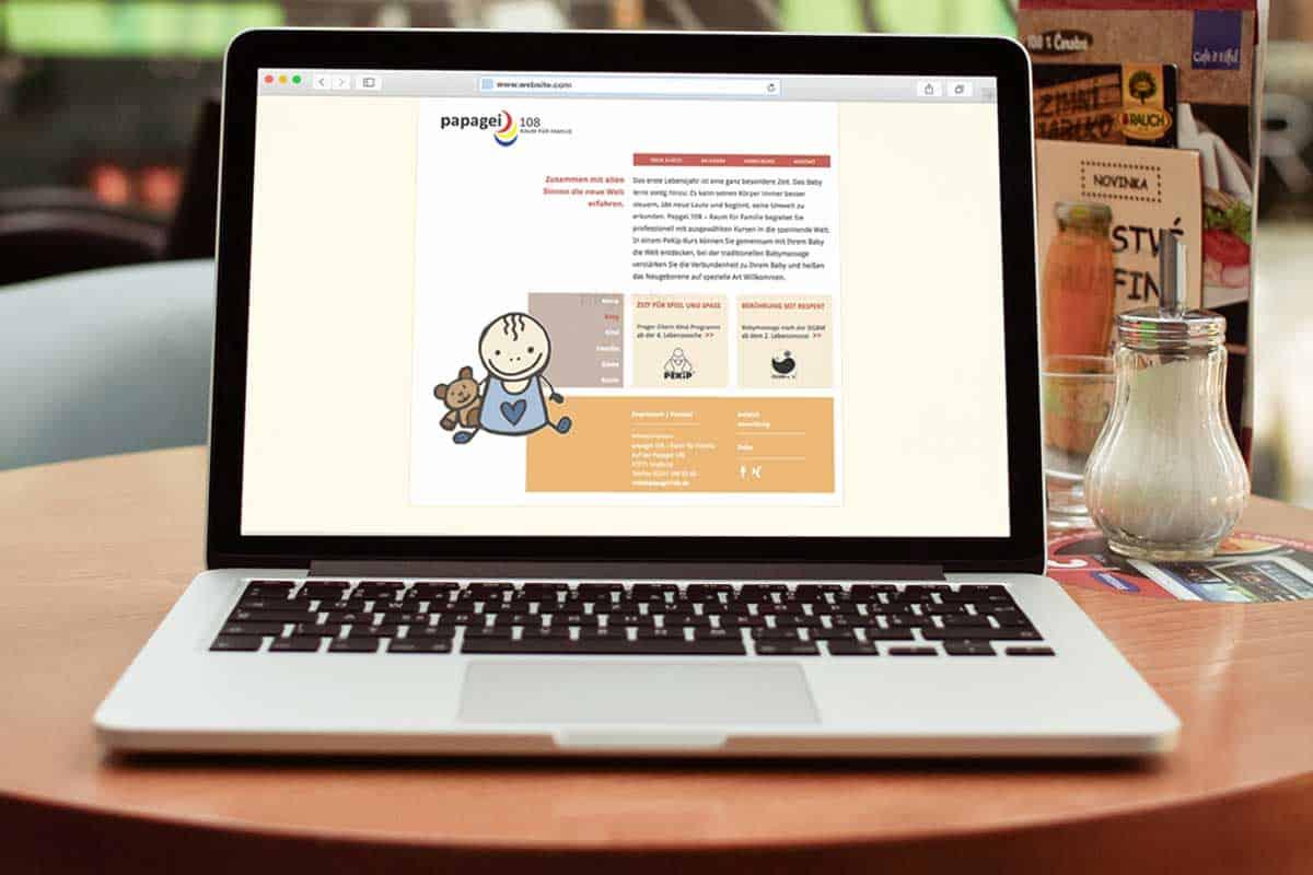 hilledesign Portfolio Papagei.108 Webdesign