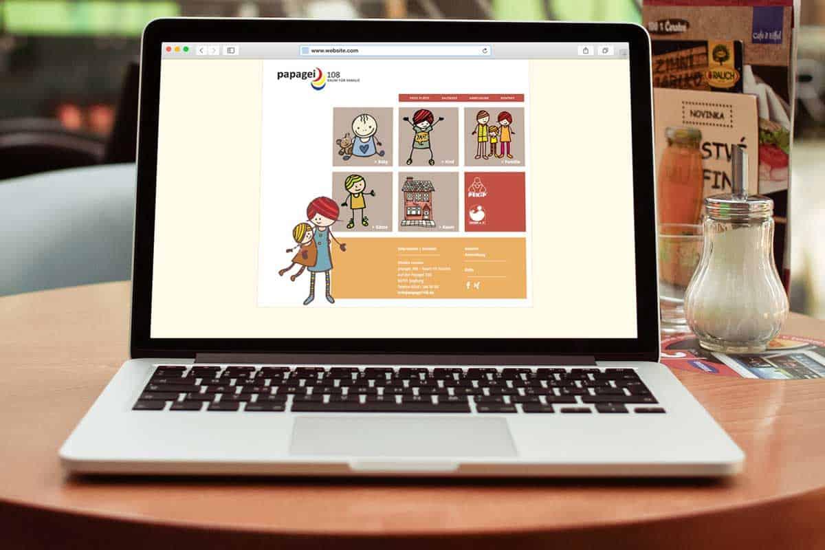 hilledesign Portfolio Papagei.108 Web Design