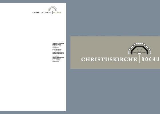 hilledesign Portfolio Christuskirche Bochum Corporate Design und Logo-Entwicklung