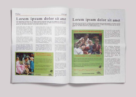 hilledesign Portfolio IDL - Anzeige