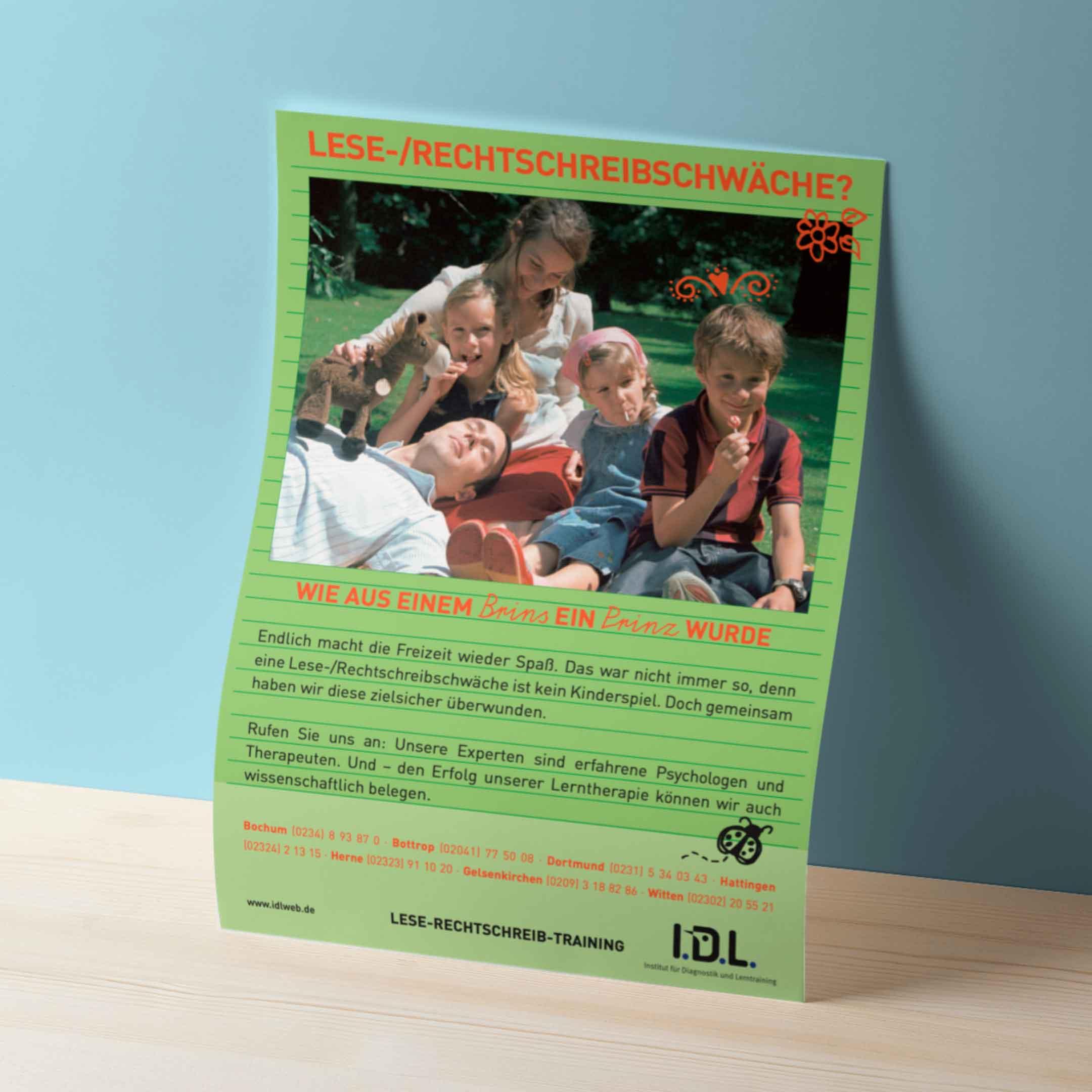 hilledesign Portfolio IDL - Poster