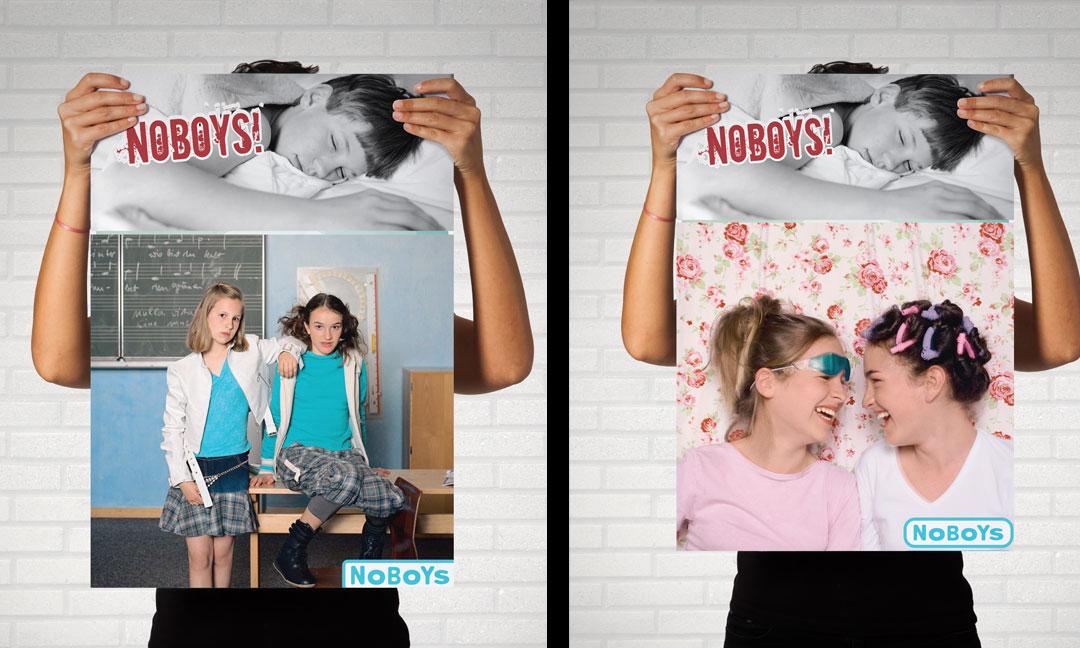 hilledesign Portfolio Orsay NoBoys Poster