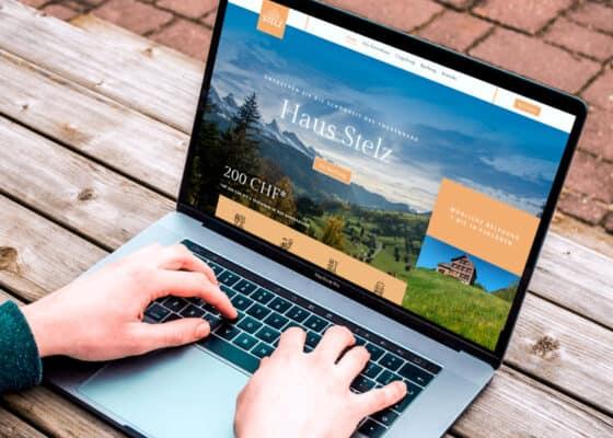hilledesign Portfolio Webdesign Haus Stelz