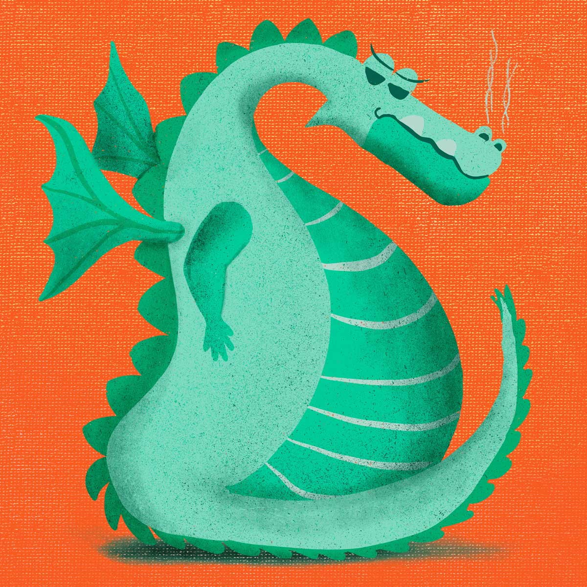 hilledesign-illustration-annoyed-animals-DRAGON