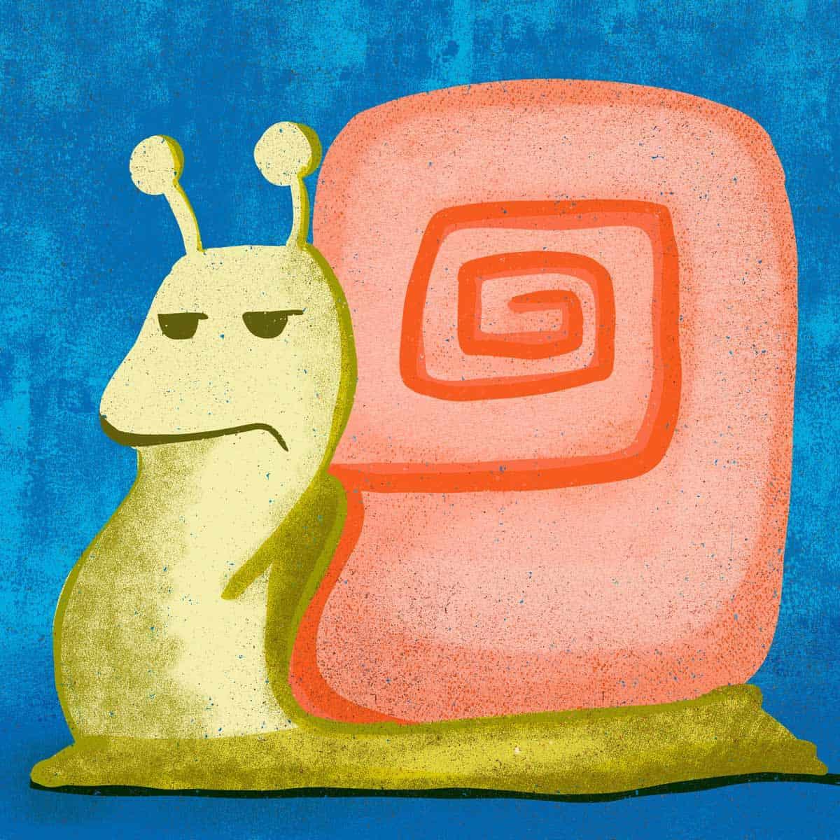 hilledesign-illustration-annoyed-animals-snail