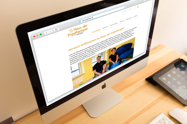 Portfolio Web Design Ergohaus Dortmund
