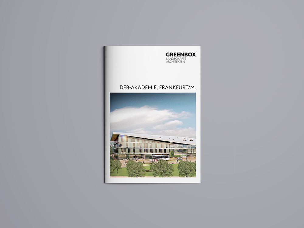 hilledesign Portfolio GREENBOX Landschaftsarchitekten Grafik Design Broschüre