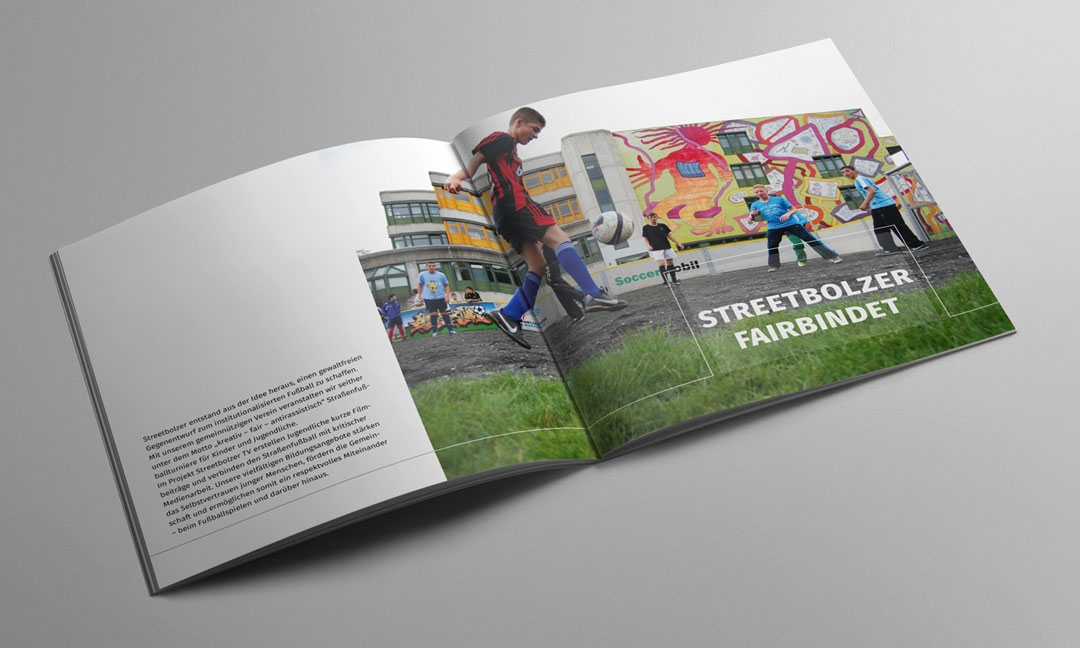 hilledesign Portfolio Streetbolzer Grafik Design Broschüre