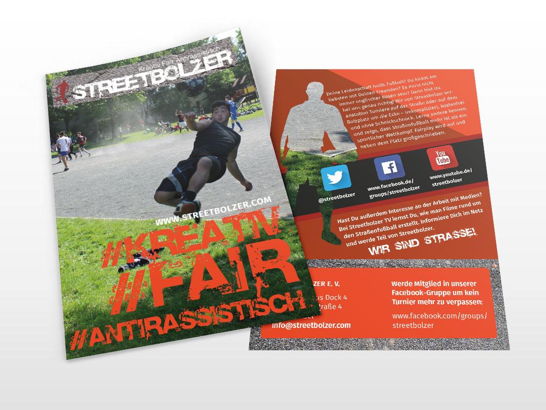 hilledesign Portfolio Streetbolzer Grafik Design Flyer