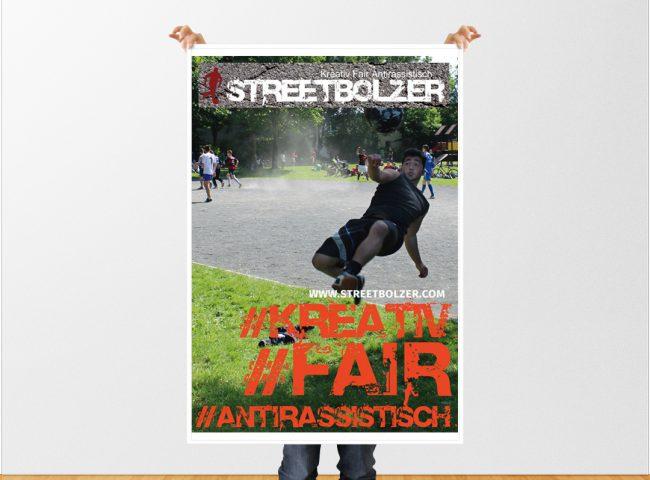 hilledesign Portfolio Streetbolzer Grafik Design Plakat
