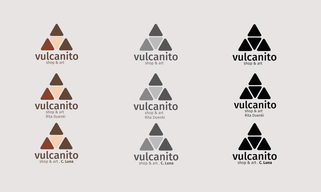 hilledesign Portfolio vulcanito Grafik Design Logo